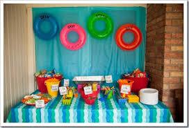 Hawaiian Pool Party Decorations