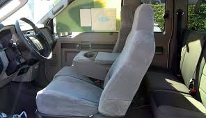 2004-2010 Ford F250-F550 Super Crew Front And Rear Seat Set ...