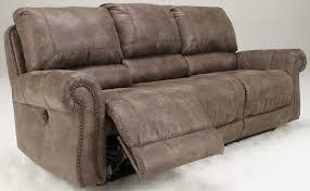 Ashley Larkinhurst Sofa And Loveseat by Oberson Gunsmoke Power Reclining Sofa From Ashley 7410087