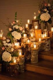 Enchanting Fall Wedding Decorations With Mason Jars 27 For Tables