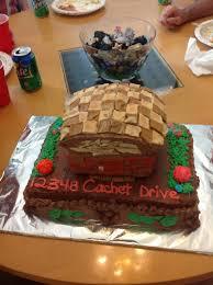 Themed Cake To Look Like A House