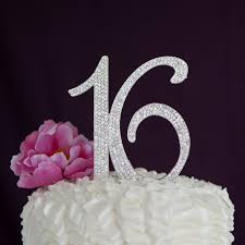 cake decorations sweet 16 cake topper 16th birthday supplies