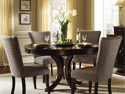 Interior Upholstered Dining Room Set Awesome Comfortable Kitchen Plan Also Sofa Blue Fabric Chairs Ice