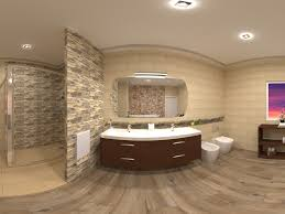 baño grande beige big beige bathroom mediterran