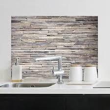 details zu wandsticker wandschutz klebefolie aufkleber spritzschutz küche bad spüle steine