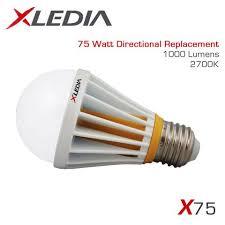 xledia x75l 75 watt equal a19 led for fully enclosed fixtures