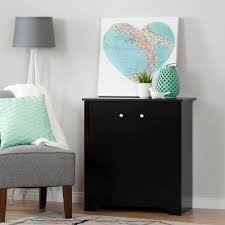 South Shore Vito 6 Drawer Dresser by South Shore Vito Small 2 Door Storage Cabinet Pure Black Home
