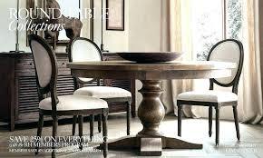 Transitional Dining Room Sets Restoration Hardware Table Tables