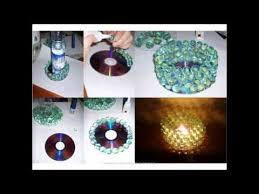 Waste Cd Craft For Kids Handmade Things From Material Step By Google