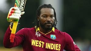 Chris Gayle Of West Indies Cricket Player