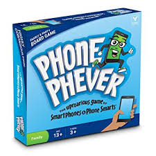 Phone Phever Board Game Best New Fun Fast Paced Family Friendly Party