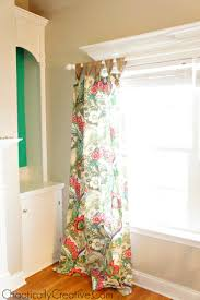 Floor To Ceiling Tension Rod Curtain by How To Hang Curtain Rods On Windows With Decorative Molding