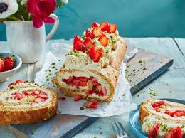 leichter kuchen für den sommer rezept für erdbeer
