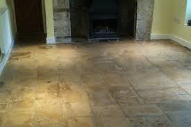 Regrout Old Tile Floor by Stone Floor Restoration Gallery Before And After Stone Pictures