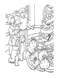 Click To See Printable Version Of Kids Are So Excited About Presents Coloring Page