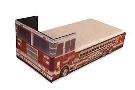 100 Kids Fire Truck Bed Engine Visco Therapy