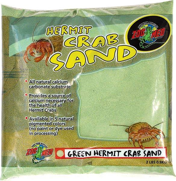 Zoo Med Laboratories Hermit Crab Sand - Green
