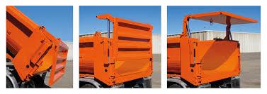 Barn Door Tailgate Dump Truck.Crysteel Introduces New Multi Function ...