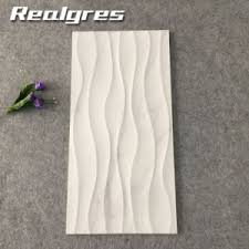 china foshan artificial white wave ceramic wall tiles decorative