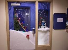 funny christmas office door decorating ideas home design and