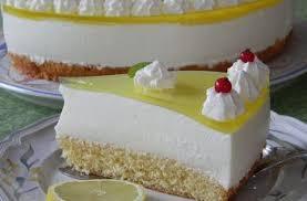 einfache zitronen joghurt torte