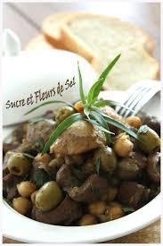 cuisiner les rognons de veau sucre et fleurs de sel tajine de rognons de veau aux pois chiche