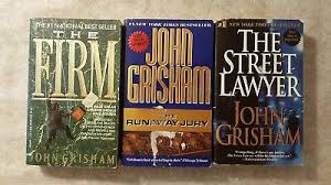 Lot Of 3 JOHN GRISHAM Pbs FIRM The Runaway Jury Street Lawyer