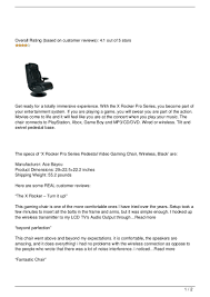 X Rocker Pro Series Pedestal Gaming Chair The Best Gaming Chair Brands 10 Ps4 Chairs 2018 5 Ways To Make Your X Rocker More Comfortable Top With Speakers On Amazon In 2019 Bass Head Kind Bluetooth Krakendesignclub Pro H3 Review Rocker Gaming Chair Penarth Vale Of Glamorgan Gumtree Cheap Under 100 Update 2 1 Pedestal In Distressed 13 Editors Pick Omnicore