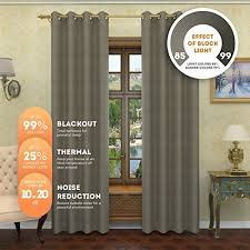 Walmart Grommet Blackout Curtains by Linen Source Nicole Solid Thermal Insulated Grommet Blackout