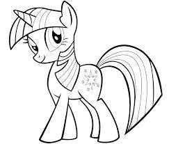 Coloriage My Little Pony Twilight Disney Coloriage Twilight Princess