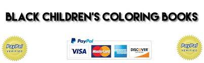 Black Childrens Coloring Books