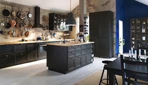 meuble de cuisine noir meuble cuisine noir ikea cuisine en image