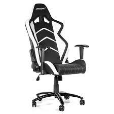 ordinateur de bureau pour gamer akracing player gaming chair blanc siège pc akracing sur ldlc