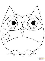 Click Valentine Day Owl Coloring Pages View Printable Free Hard Baby