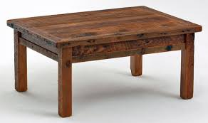 Barnwood Farm Style Coffee Table