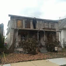 This House Is A Facade That They Put Up For Halloween If You Want To See The Rest Its On Website Here
