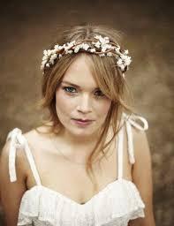 Brides Flower Crown Ragnarok Wedding And On