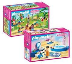 details zu playmobil dollhouse puppenhaus set 70211 badezimmer 70212 clown