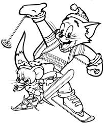 Tom And Jerry Coloring Pages 3