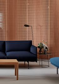 100 Scandinavian Design Chicago The Outline Sofa 3 12seater Combined With The Leaf Floor Lamp And