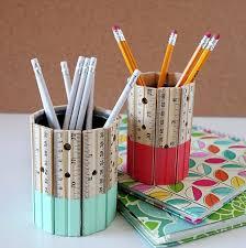 rangement stylo bureau 1001 idées pour fabriquer un pot à crayon adorable soi même