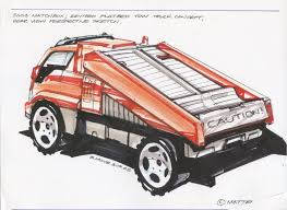 100 Matchbox Tow Truck 2003 Revised Flatbed Concept Rear View