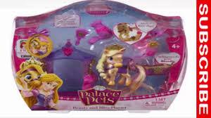 Palace Pets Pumpkin Dressed Up by Disney Princess Palace Pets Beauty And Bliss Playset Rapunzel
