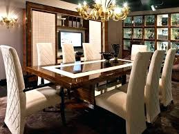 Houzz Modern Dining Room High End Table Luxury Tables Chic Luxurious
