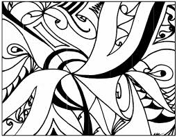 Abstract Art Coloring Pages Photo