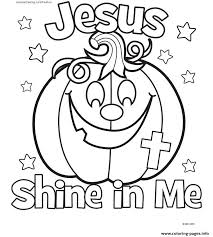 Halloween Jesus Shine In Me Coloring Pages Print Download 341 Prints