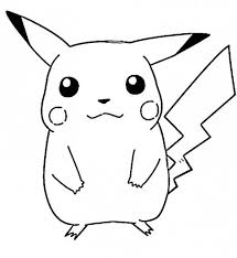 Luxury Pikachu Coloring Page