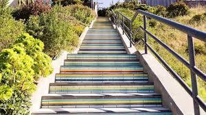 16th Avenue Tiled Steps Address by Excelsior Hillside Gets Beautiful Tile Steps After Nine Years