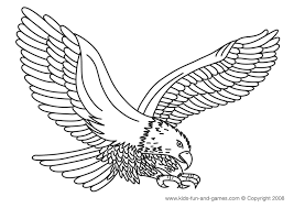 Eagle Coloring Pages Bird Animals 31