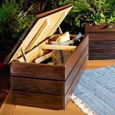 Angenehm Wood Storage Bench For Bedroom Wayfair Waterproof B